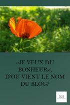 Je Veux du Bonheur doù vient le nom du blog n93qptc7d6wpw450d4jpbmxthefpsafainev3exulm MES ARTICLES